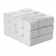 White 2-Ply Bulk Pack Toilet Tissue 200mm x 105m 250 sheets - 56206