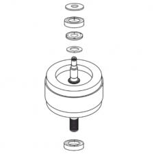 Dry Fusion Bearing & Rotor R40 Kit