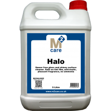 M2 Halo Smear Free Glass Cleaner 5 Ltr