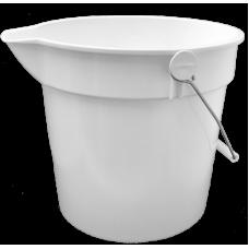 10 Litre Bucket (White)