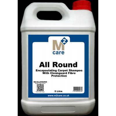 M2 Care All Round Encapsulating Carpet Shampoo 5L