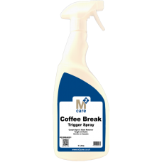 M2 Care Coffee Break Stain Remover 1L Trigger Spray