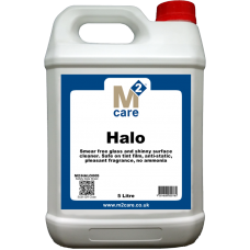 M2 Care Halo Smear Free Glass Cleaner 5 Ltr