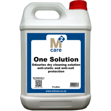 M2 Care One Solution - Odourless Dry Cleaning Solution 5L
