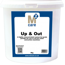 M2 Care Up & Out 4kg - Carpet Pre-Spray Powder