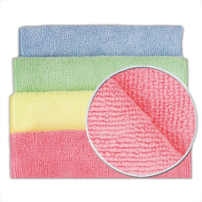 Microfibre Cloths Medium Duty Cloths (Pack of 10)