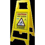 Non-Tip Safety Sign