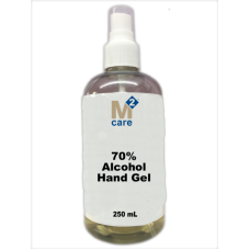 M2 Care 72% Alcohol Hand Gel and Moisturiser 250ml