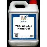 M2 70% Alcohol Hand Gel 5 Ltr