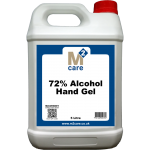 M2 72% Alcohol Hand Gel and Moisturiser 5 Ltr