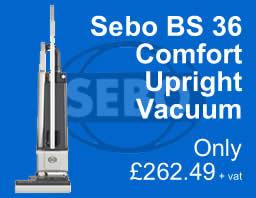 Sebo BS 36 Comfort Vacuum
