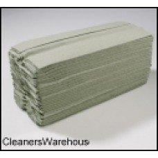 Green 1-Ply C Fold Hand Towel 230mm x 310mm (Total Pack of 2944 sheets) 12900