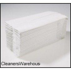 White 2-Ply Hand Towel C Fold 230mm x 310mm (2430 sheets) 12906