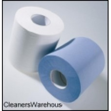 White 2-Ply Centre Feed Roll 200mm x 150m (6 per case) 56164
