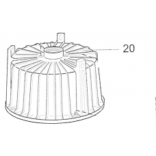 20444332 motor housing with stator R40 col