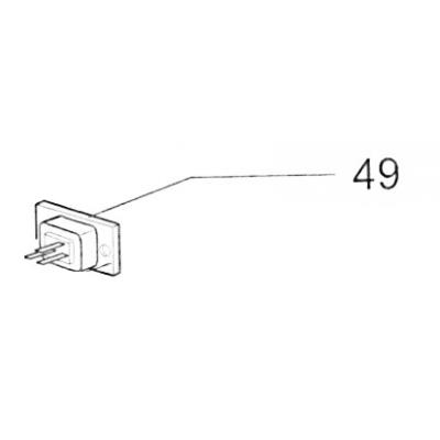20545900 connector plug 16A