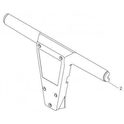 20040202 handle upper (Black)