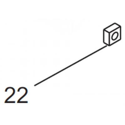 20029900 square nut M5