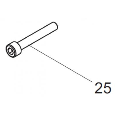 20567600 cap screw M6x55