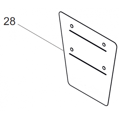 70014600 operating plate