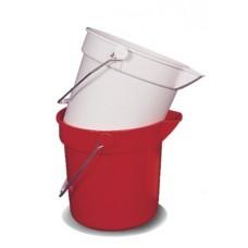 10 litre bucket Red CN3503R