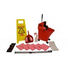 Flat Mopping Starter Kit - Red - 994713